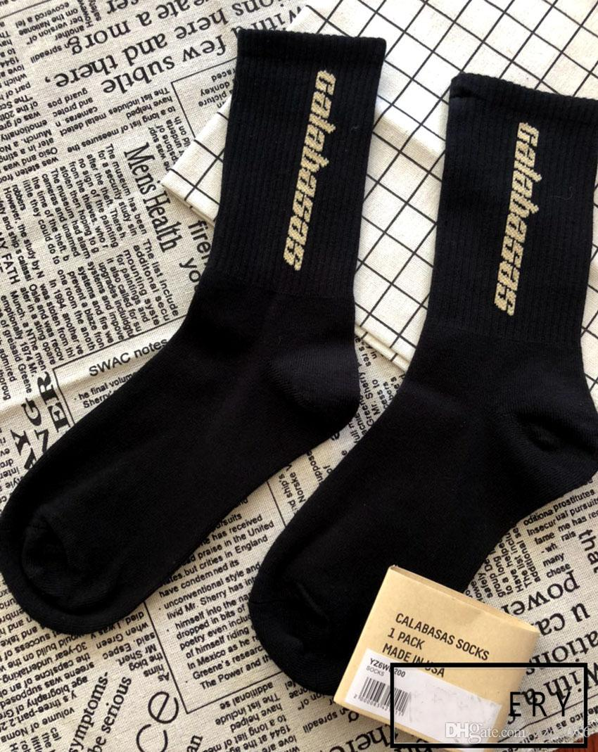 ae63f099c 2019 Top Quality Bursts Of Calabasas Socks Tricolor Fashion Base Basics  Color Stockings Men Sports Basketball Socks Kanye West Season 5 Socks From  Zzc2016