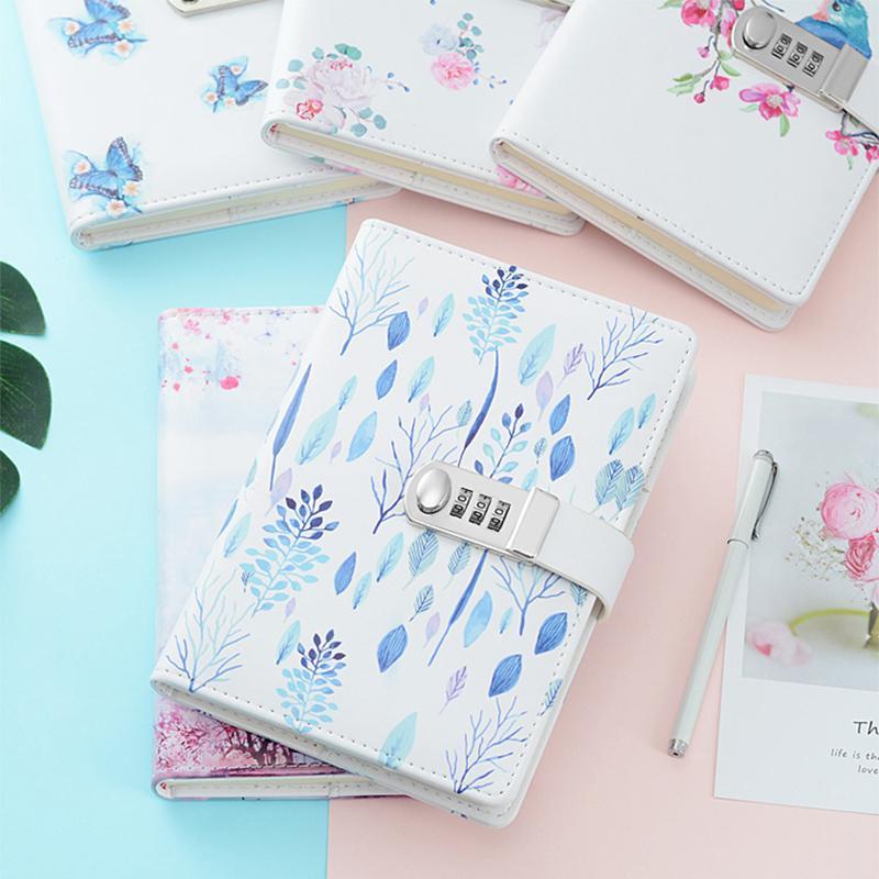 Nette Cartoon Tagebuch Notebook Mit Schloss Passwort Journal Notiz Reise Memos Wöchentlich Planer Schreibwaren Schule Liefert Für Kinder StraßEnpreis Office & School Supplies Notebooks