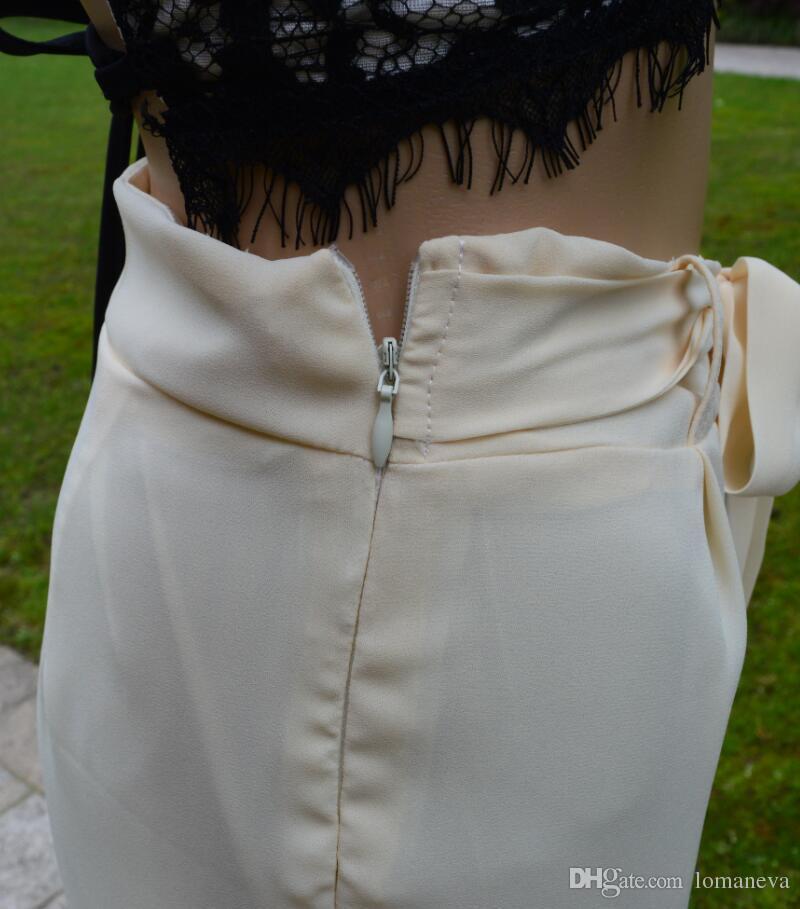 new lace bra straps wide leg pants suit Sexy Halter two piece suit fashion club multicolor ladies suit pants