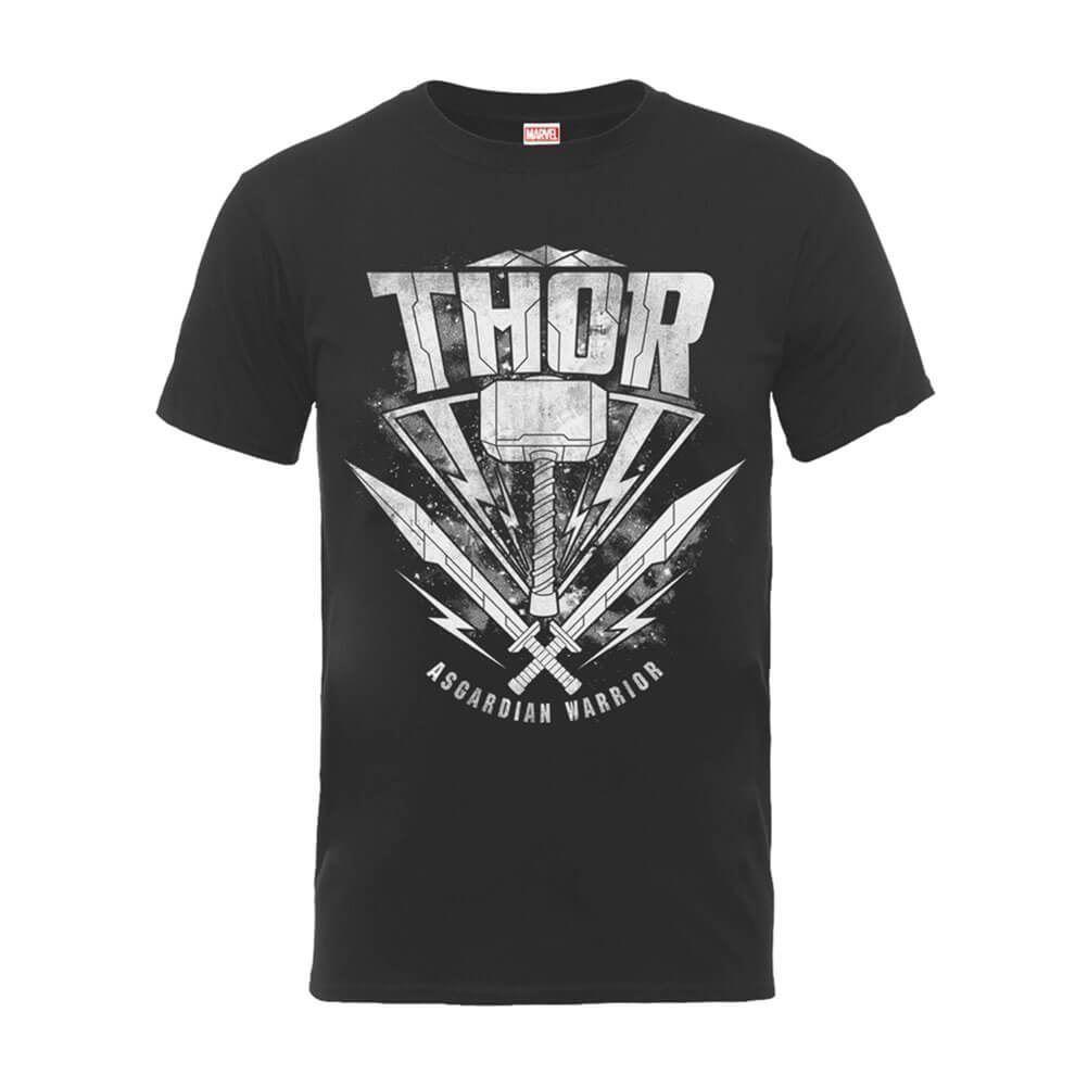25dc3e8db9faf2 Officially Licensed Men S Marvel Thor Ragnarok Hammer Logo T Shirt Sizes S  3XL Man Fashion Round Collar T Shirt Top Tee Ts Shirt Buy Funny T Shirts  From ...