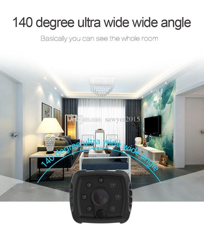 HD wifi مصغرة كاميرا dvr h7 اللاسلكية 1080 وعاء الأشعة تحت الحمراء للرؤية الليلية كاميرا رياضية المحمولة الطفل كاميرا المنزل الأمن فيديو مسجل فيديو عرض بعيد