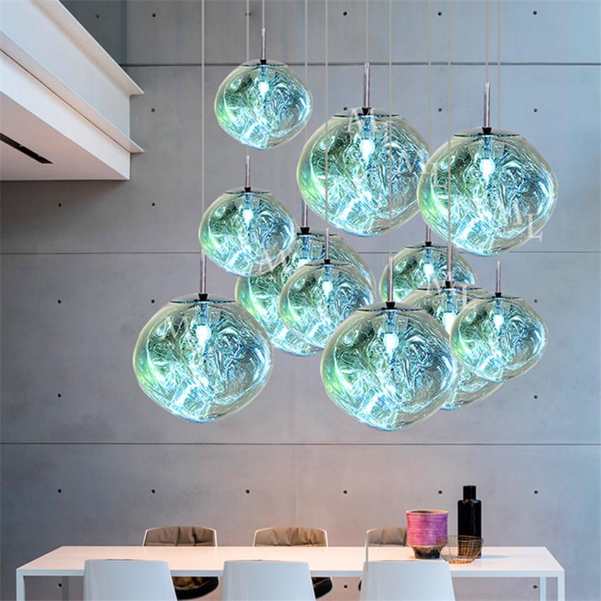 Modern Light Chandelier Lighting Tom DIXON Melt Lava Pendant Lamps Light  Living Room Bedroom HangLamps Restaurant Home Luminaire Drum Pendant Light  Ceiling ...