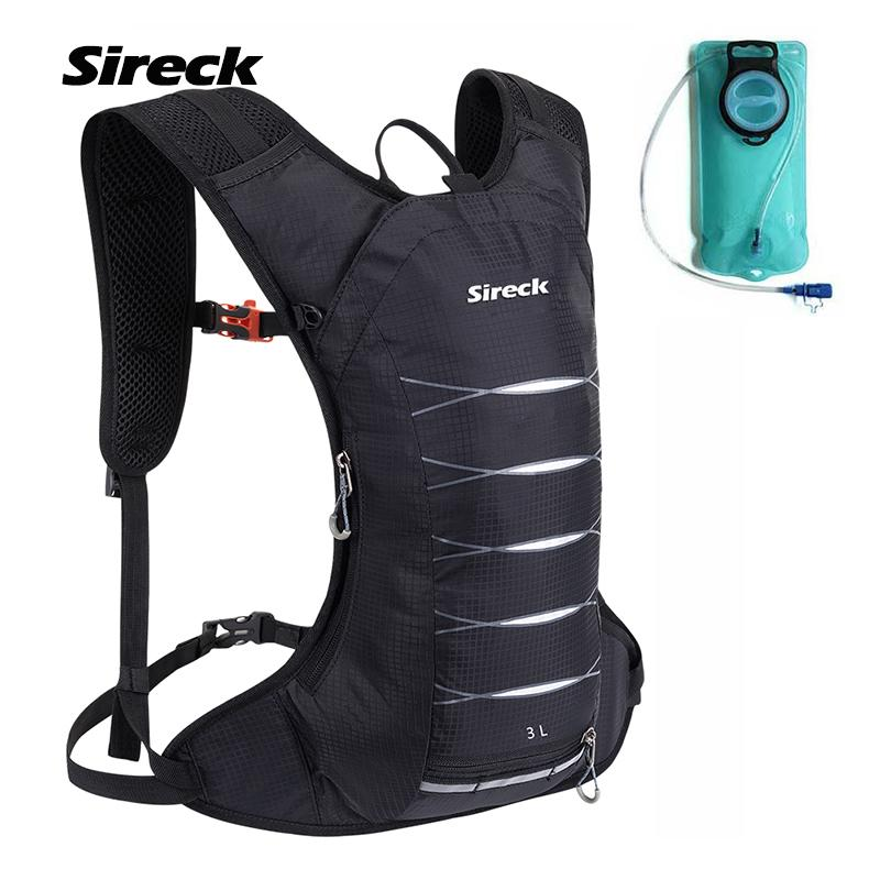 bab3946867 2019 Sireck 3L Outdoor Camping Backpack With 2L Water Bag Sport Hydration  Pack Hiking Running Bike Cycling Water Backpack Bladder From Diyplant, ...