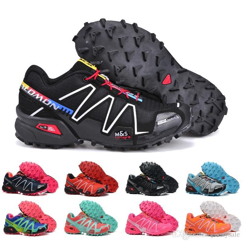 00ff7448135 2019 Salomon 2018 Women S Shoes Peedcross 3 Trail Best Quality Women  Outdoor Running Shoes An Jogging Sports Fashion Sneakers Outdoor Walking 5  9 From ...