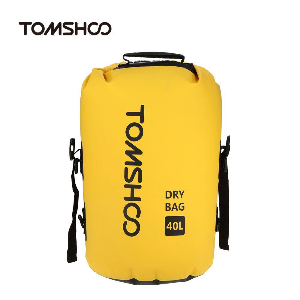 Camping & Hiking Outdoor Portable Pvc Waterproof Backpack Storage Sack Kayak Rafting Bag Sport Bags Travel Equipment Street Price Climbing Bags