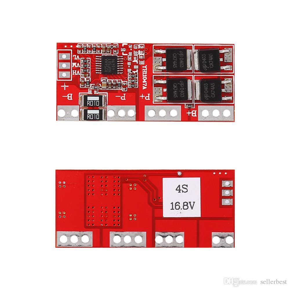 Tarjeta de protección del cargador de batería de litio de 4 series Li-ion 14.4V 14.8V 16.8V High Current