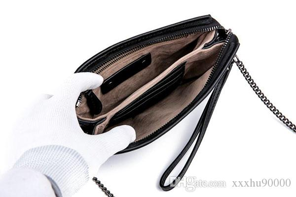 brand new famous designer real leather women's clutch bag high quality small bag with handle 09