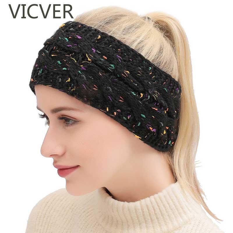 Compre Crochet Knit Headwrap Mulheres Beanie Chapéu Orelhas De Inverno Mais  Quente Envoltório Cabeça Cap Macio Casuais Chapéus De Lã Headwear Para  Senhoras ... 3ec3c4abc20
