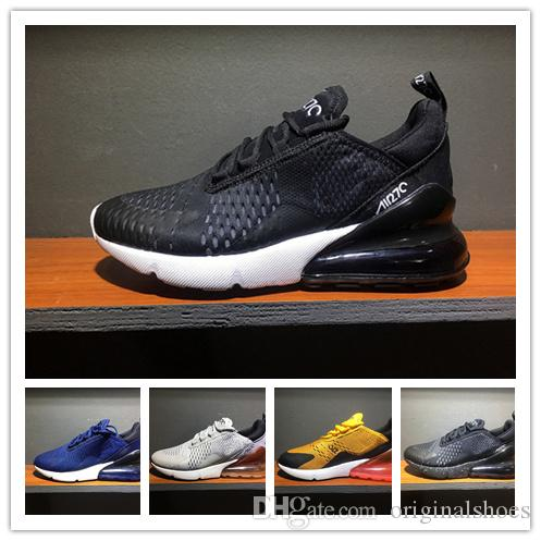 2018 hot sale mix orders Mens Flair Triple Black 270 Trainer Sports Running Shoes Womens 270 Sneakers Size 36-46 [with box+Socks] outlet free shipping authentic RS2K8MK