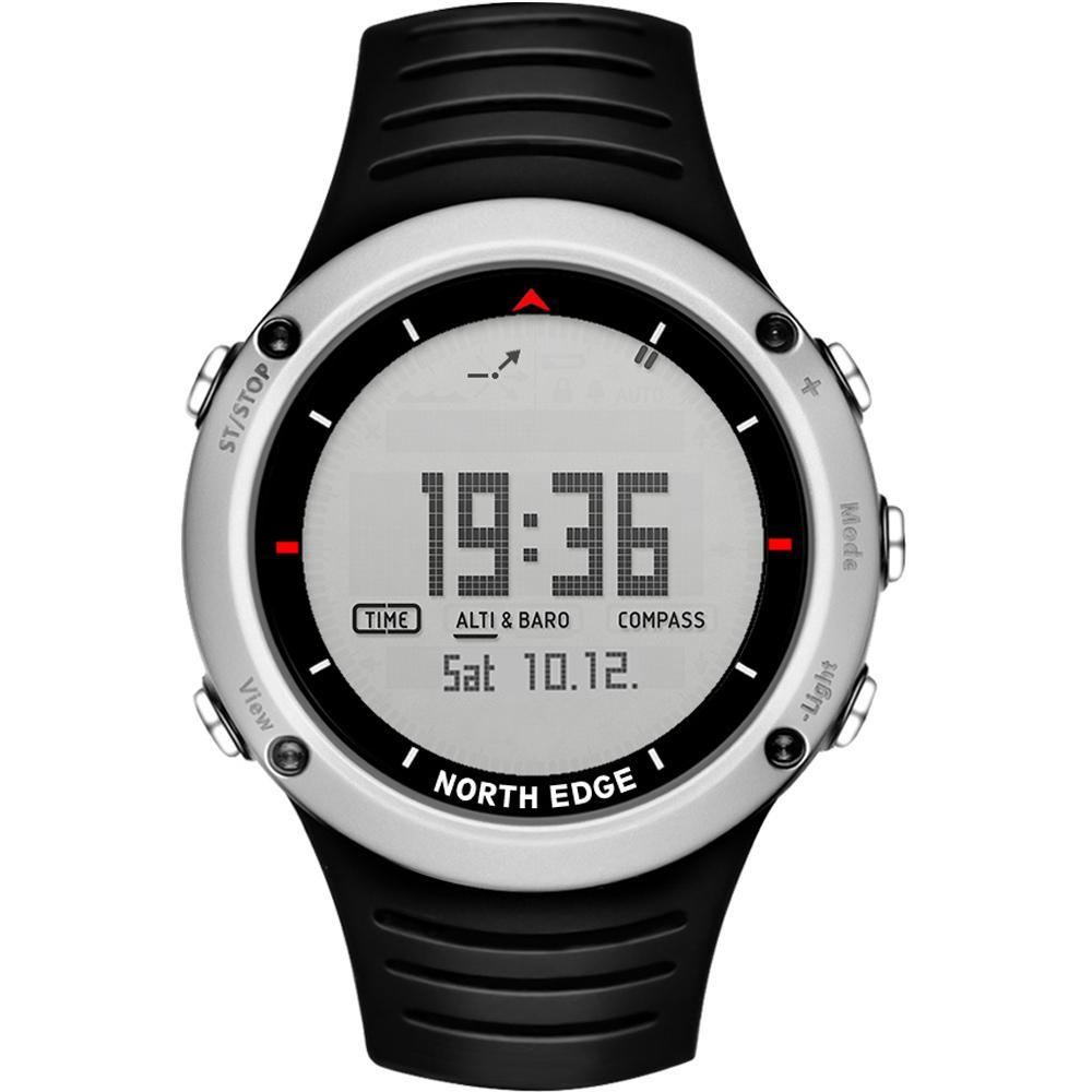 94ce094eb97 Carregando zoom. Compre BORDA NORTE Dos Homens Esporte Digital Relógio  Inteligente Hora De Pesca Em Execução Relógios Altímetro
