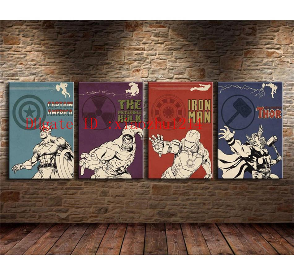Amazing 2018 Avengers,Home Decor Hd Printed Modern Art Painting On Canvas  Unframed/Framed From Xiaozhu1214, $17.09 | Dhgate.Com