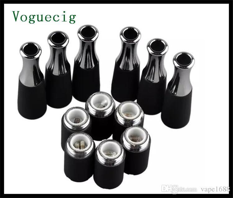 ego-t accessoire de cire vaporisateur poêle quartz bobine accessoire de chauffage double tige de bobine de céramique cire concentré vaporisateur e cig 2018 chaud