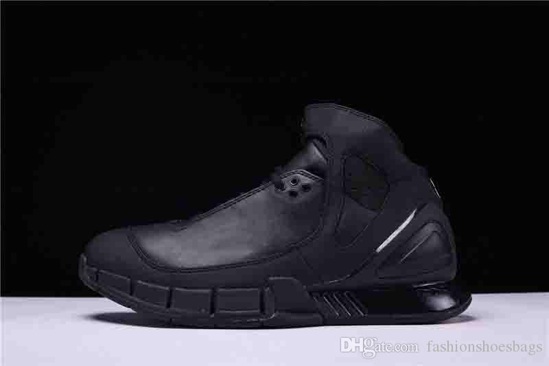 9ae8130f74b2 2018 ZOOM HUARACHE 2K5 Black KOBE BRYANT LAKERS OG 310850 013 Men S  Sneakers Sports Basketball Shoes With Original Bo Summer Shoes Best Shoes  From ...