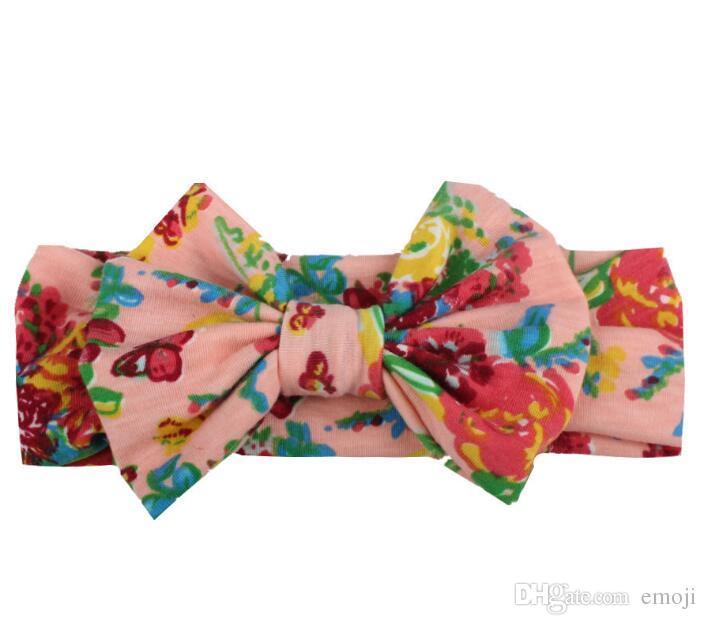 New Fashion Bow Fascia bambini Accessori Fasce la testa Neonati Fasce le ragazze Accessori capelli neonati Fasce capelli Fasce neonati