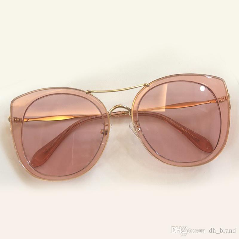 8491db35b3 Double Beam Butterfly Sunglasses Brand Designer Acetate Frame Gradient  Mirror Round UV400 Lens Oculos De Sol Vintage Fashion Eyewear Bifocal  Sunglasses ...