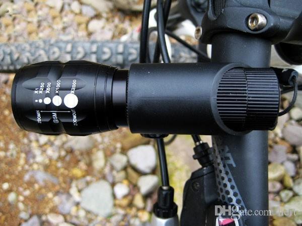 Lanterna de led High Power Torch 2000 lumen Zoomable mini LED Flashlight tatica light lantern bike Bicycle light