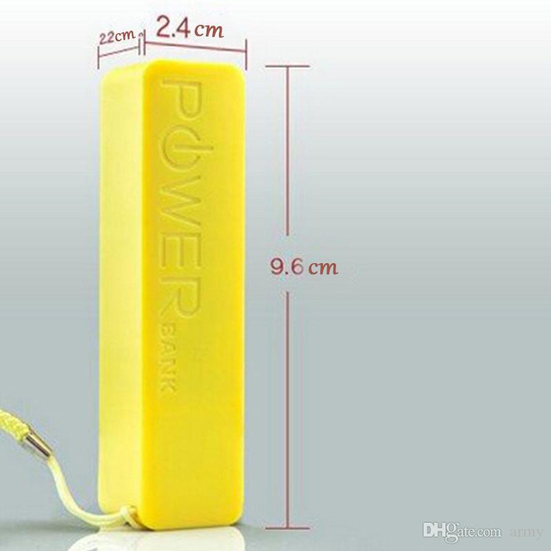 Mobile charger power bank Mini USB Portable Charger backup battery charger univeresal smartphone