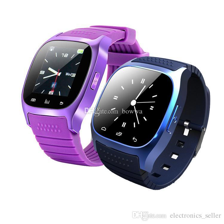 2017 Bluetooth Smart Watches M26 Watch for iPhone 6/4/4S/5/5S Samsung S7/S6/S5/Note 5 HTC Android Phone for men women factory price