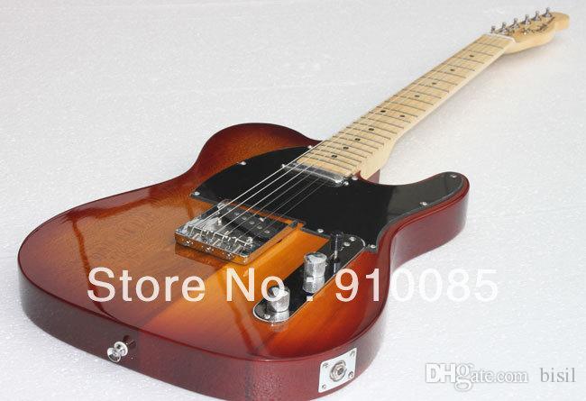 Frete grátis HOT! Alta qualidade Ameican padrão telecaster guitarra elétrica em estoque
