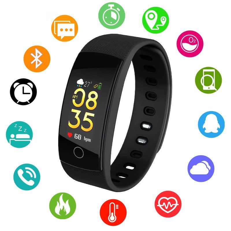 Smart Uhren Bluetooth Smartwatch Für Android Ios Telefon Armband Outdoor Sport Schrittzähler Kalorien Smartband Ip67 Armbanduhr Digitale Uhren