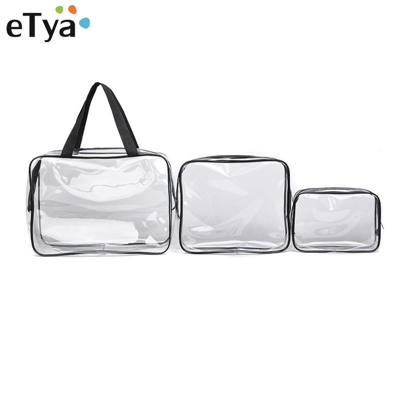 8c7ae776f0595d 2019 Fashion Environmental Protection PVC Transparent Cosmetic Bag Women  Travel Make Up Toiletry Bags Makeup Handbag Organizer Case From Murie, ...