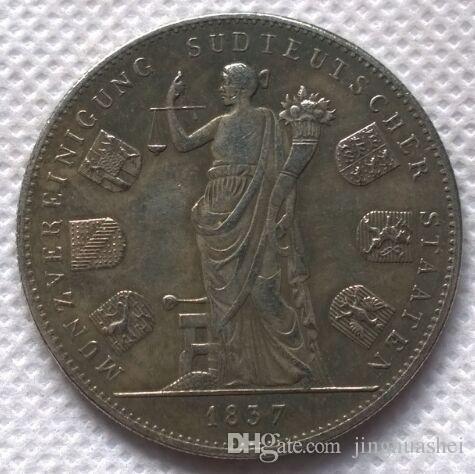Großhandel Typ 2 1837 Deutsche Staaten Kopieren Münzen