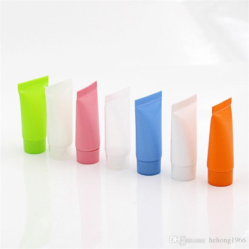Limpar Vazio Cosméticos Mão Creme Loção Creme Dental Recipientes De Embalagem De Viagem Macio Plástico Squeeze Garrafa Tubos Novo 0 5ym6 Z