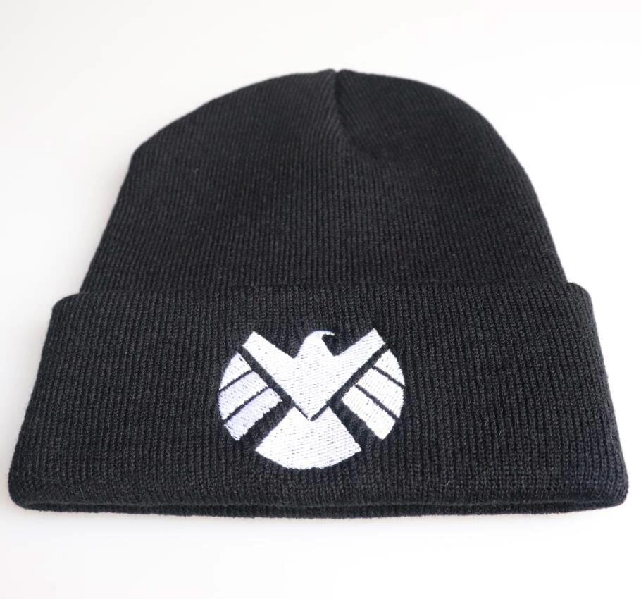 f1699a7147a 2019 SHIELD Autumn MEOW Cap Men Women Casual Hip Hop Hats Knitted Skullies  Beanies Hat Warm Winter Hat For Women Beanie From Yangmeijune