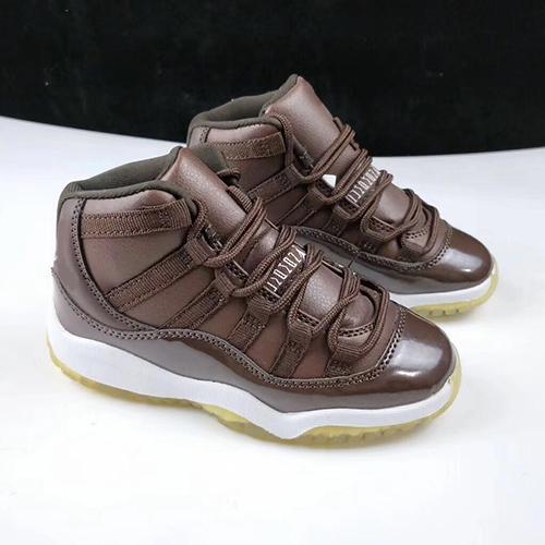 Дети 11s баскетбол обувь спортивная белый черный 9 цветов спортивная обувь для мальчиков девочек 11 кроссовки обувь размер 11C-3Y