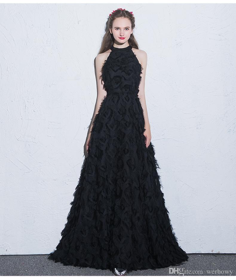 Сексуальные формальные вечерние платья с длинными рукавами черный белый маленький круглый вырез сзади молния специальная ткань выпускного вечера платья партии HY076