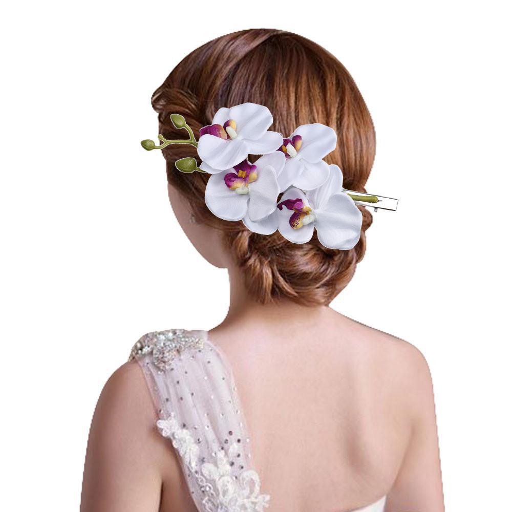 Wholesale Kai Yunly Womens Flower Hair Clip Hairpin Bridal Hawaii