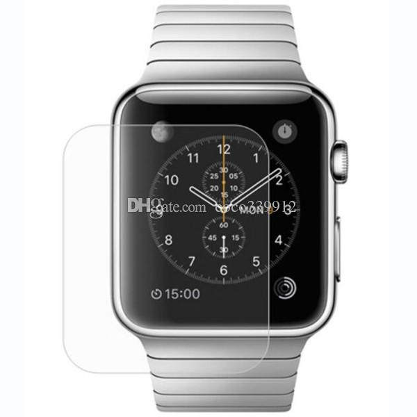 For Apple Watch iwatch 0.26mm 2.5D 9H Tempered Glass Flim Screen Protector LCD With Retal package