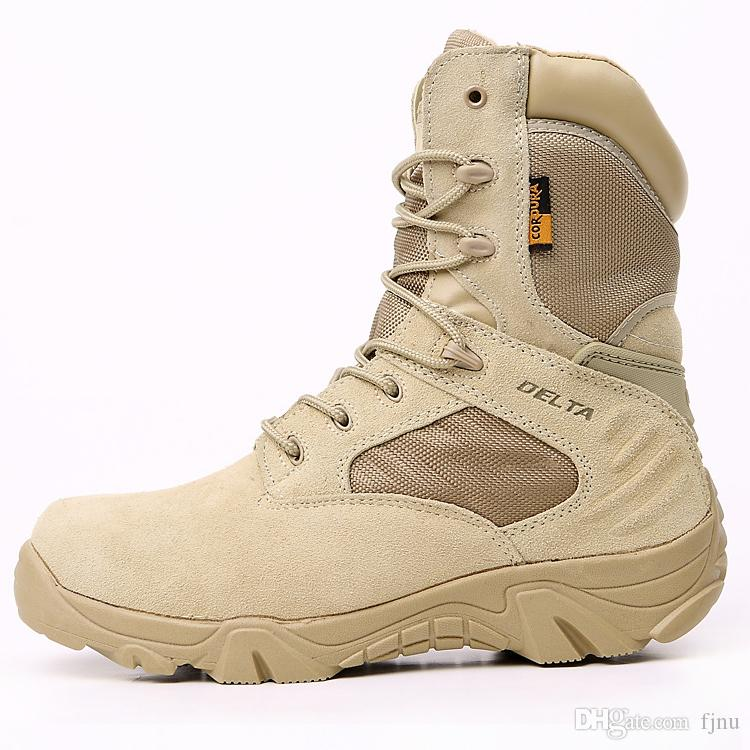 2019 Best Quality Special Forces Shoes Combat Tactical Boots Desert