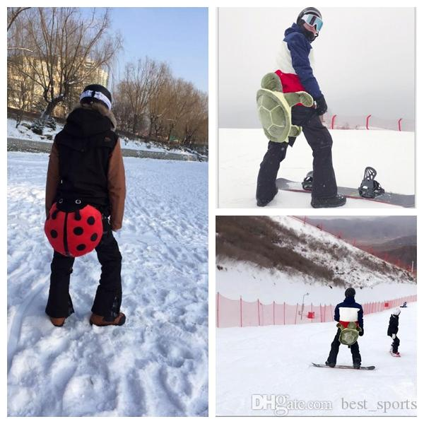 8fbf7b03a918 2019 Turtle Ladybug Skiing Skating Protective Gear Buttocks Pads For ...