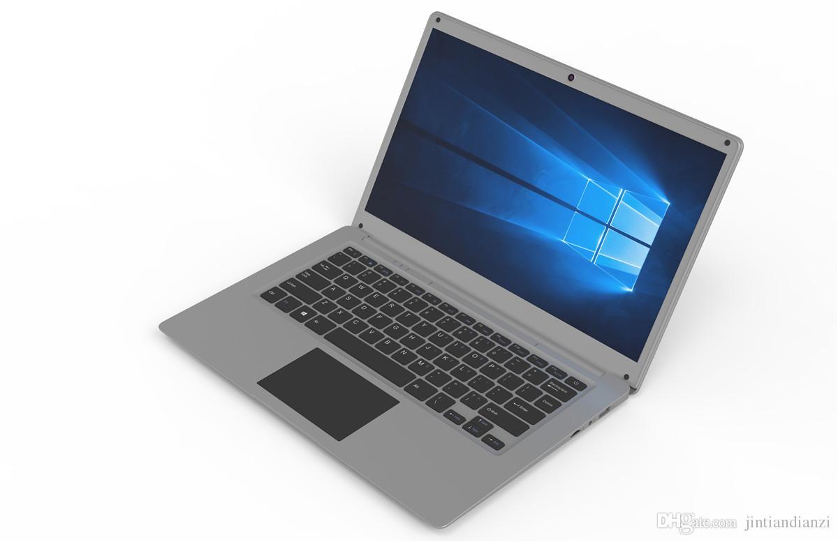 2018 شحن مجاني 14 بوصة كمبيوتر محمول صغير ويندوز 10 2 جرام 4 جيجابايت رام 32 جرام 64 جيجابايت emmc ultrabook اللوحي المحمول مع أدنى سعر