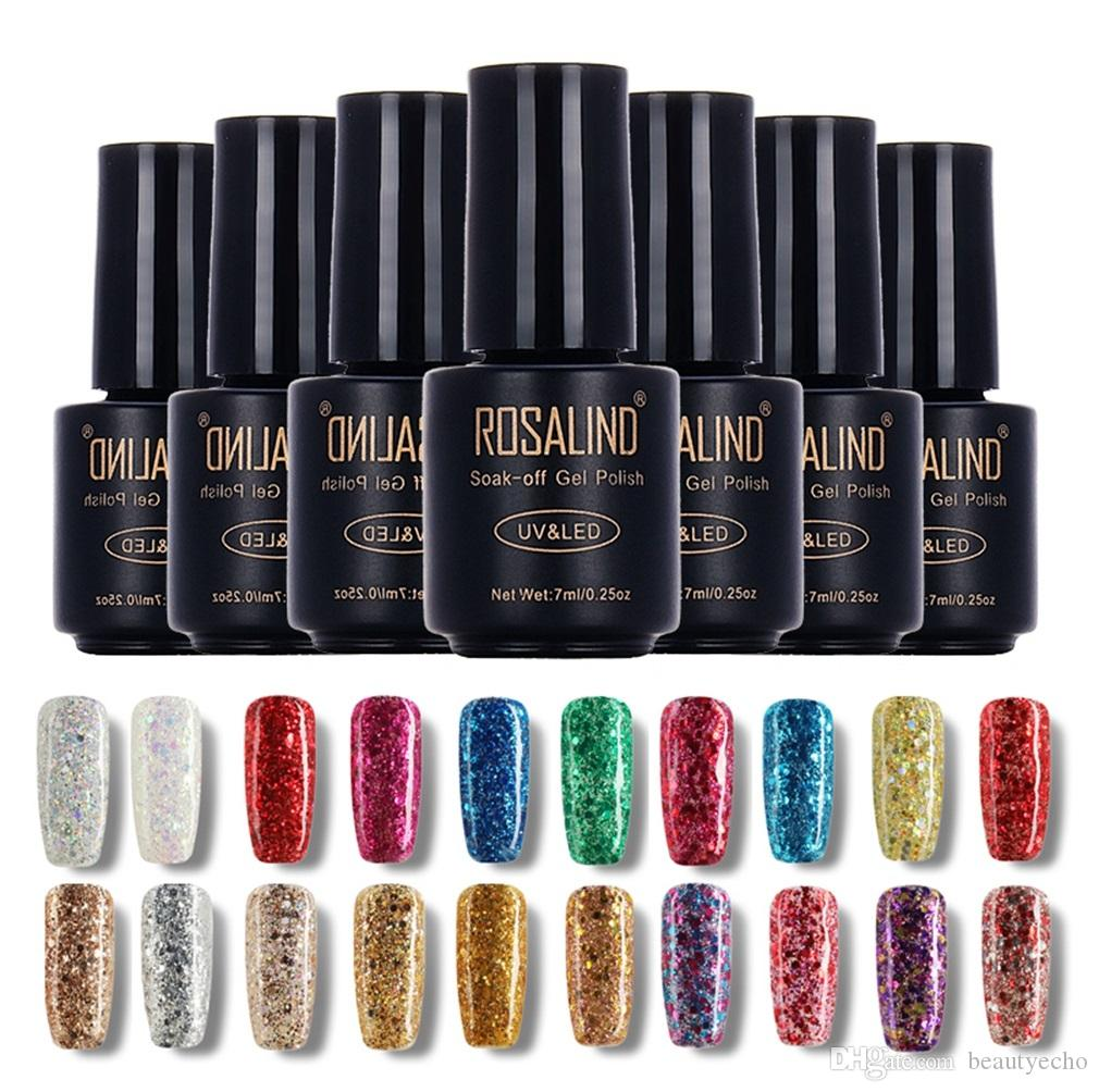 Rosalind 7ml Diamond Glitter Choose Gel Nail Polish Uv Gel Nail ...
