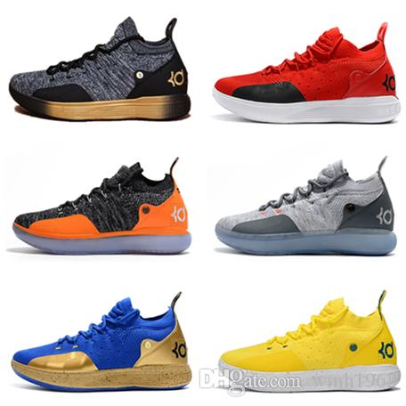 938e55887af1 2019 High Quality Kevin Durant 11 Basketball Shoes Men KD 11 XI Gold Championship  MVP Finals Sports Training Sneakers Run Shoes Size 40 46 Shoes Brands ...