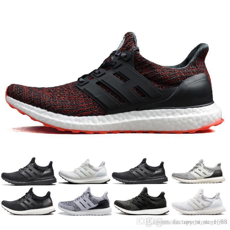 bb4d0923bbc38 2018 UB 3.0 4.0 Sneaker Men Women Running Shoes Triple Black White ...