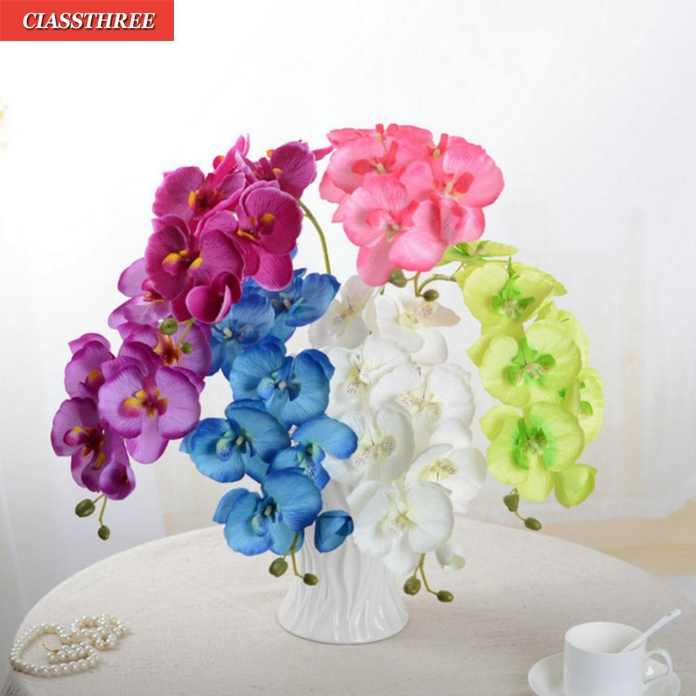 Best Fashion Orchid Artificial Flowers Diy Artificial Butterfly