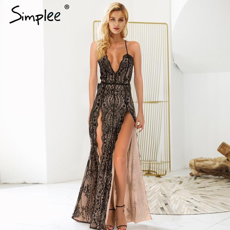 Front Side Backless Dress