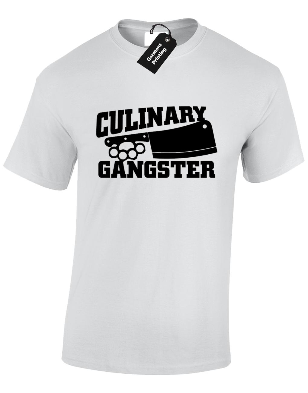 1928220e2 CULINARY GANGSTER MENS T SHIRT FUNNY GREAT BRITISH CHEF DESIGN BAKE OFF COOK  Cool Casual Pride T Shirt Shirt Designs Best T Shirts From Cls6688524, ...