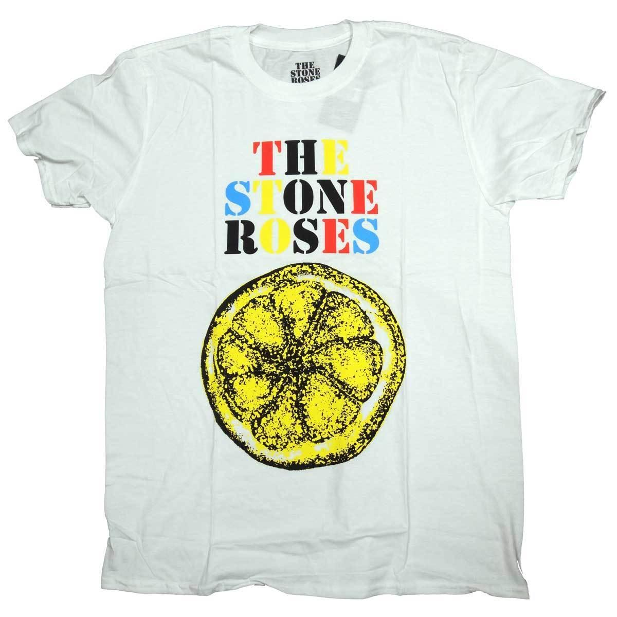 5f95352a3cd6 Details Zu Stone Roses T Shirt Lemon Logo 100% Official Old Skool Hooligans  Unisex Funny Gift Casual Tee Coolest T Shirt Shirts With Designs From ...