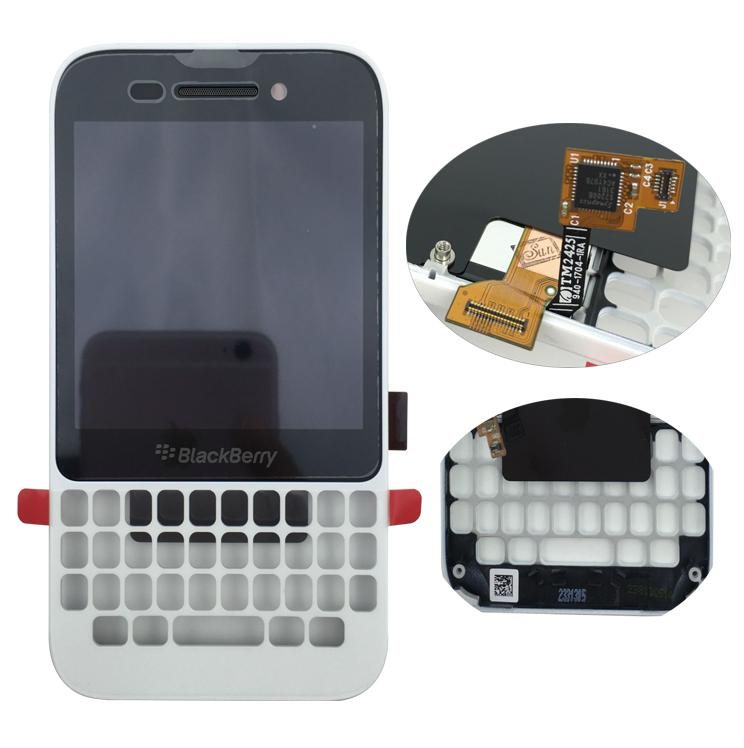 LCD For Blackberry Q5 LCD Display Replacement screen with Touch Screen Digitizer Frame Assembly Free DHL Shipping