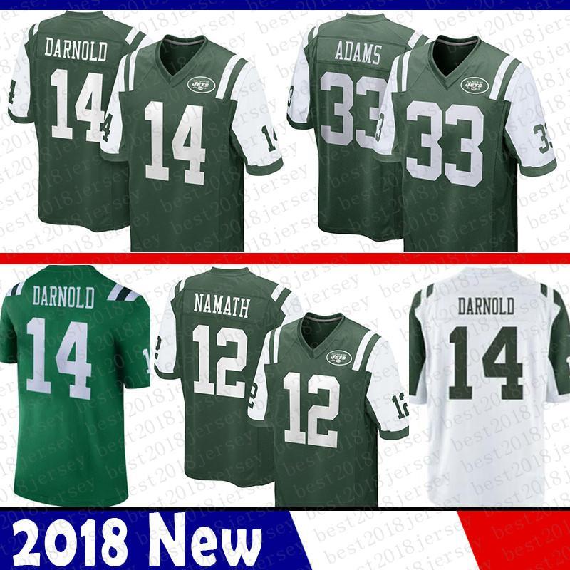 1ab93ae923c 2019 Limited New York Jersey Jets 33 Jamal Adams 14 Sam Darnold Jersey 12  Joe Namath Jerseys Green White Hot Sell From Best2018jersey, $37.9 |  DHgate.Com