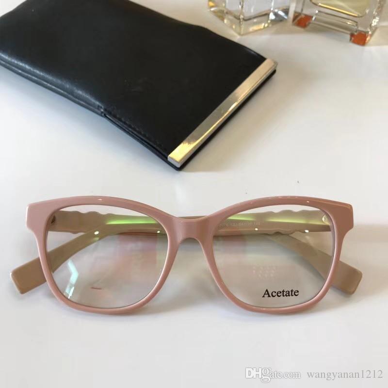 Compre Óculos De Luxo Quadro De Lente Clara 0276 Óculos De Alta Qualidade  Quadro Homem Mulheres Designer De Armações De Óculos De Marca De Luxo  Homens ... 415182c3df