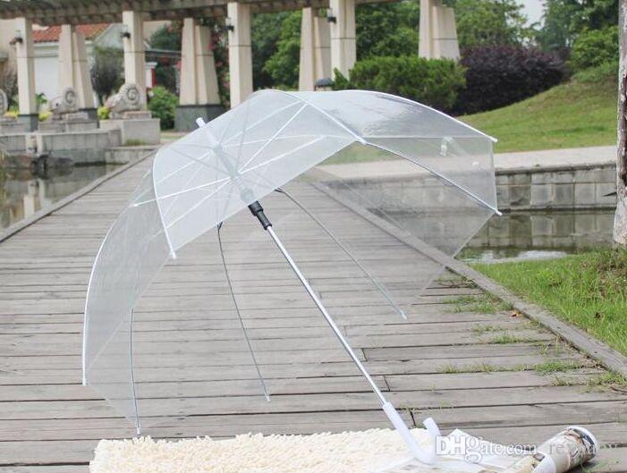 Большой Ясный Милый Пузырь Глубокий Купол Зонтик Сплетница Сопротивление Ветра Зонтики Бытовая Техника Зонтики