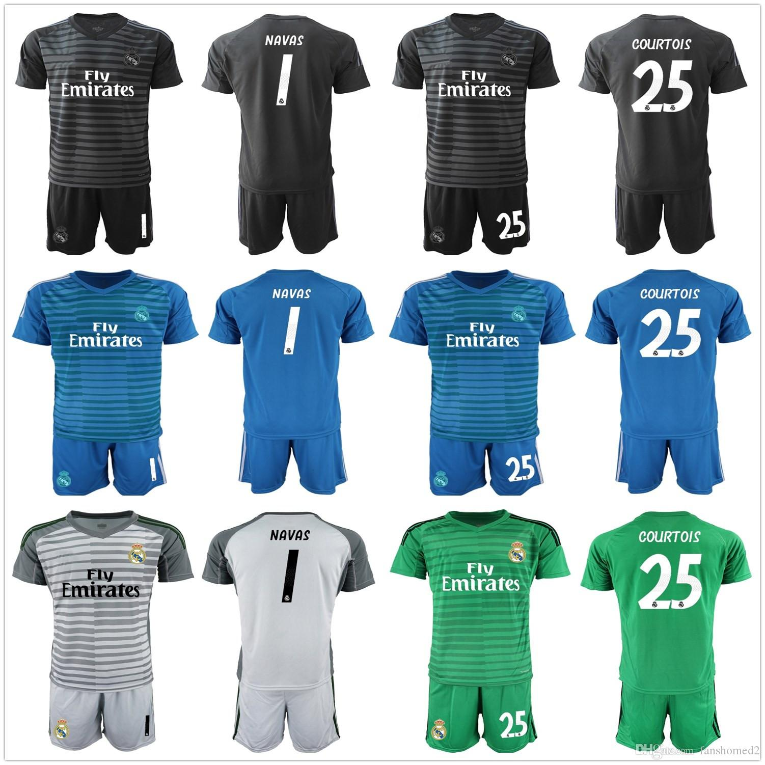 eefdc709e 2019 2018 2019 adults keylor navas 25 courtois real madrid soccer