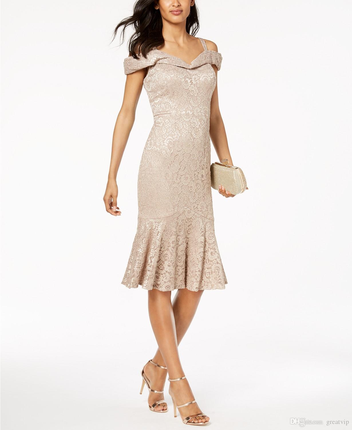 2019 R&M Richards Mother Of The Bride Dresses Gorgeous Champagne ...