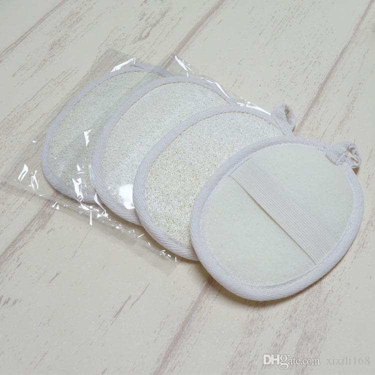 /10*14CM Natural Loofah Sponge Bath set Massage Brush Body Cleaning Face Sanitary Take Shower Brush