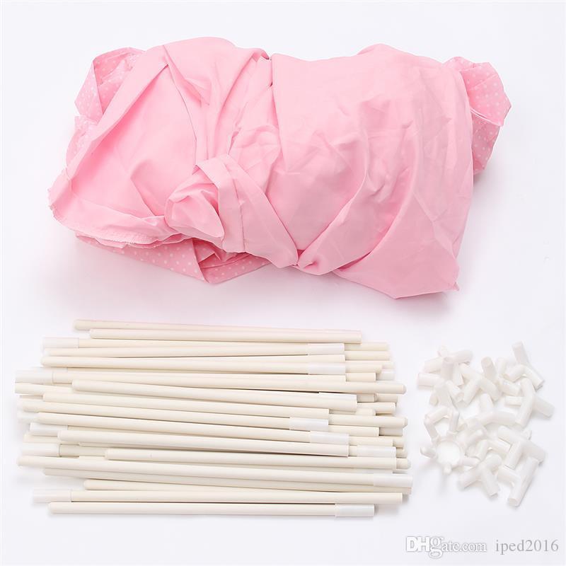 Милые Девушки Розовый Принцесса Замок Милый Домик Дети Дети Играют Палатка Открытый Игрушки Палатка Для Детей Дети